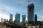 Wieżowiec Cosmopolitan już w stanie surowym