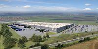 Centra logistyczne Amazon - wizualizacja