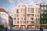 Stare Miasto w Poznaniu z nowym apartamentowcem