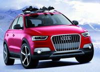 Audi Q3 Vail - przód