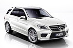 Nowy Mercedes-Benz ML 63 AMG