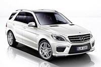 Nowy Mercedes-Benz ML 63 AMG