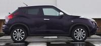 Nissan Juke Shiro - bok
