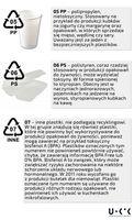 Oznaczenia na materiałach z tworzyw sztucznych cd.