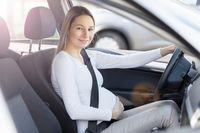 W ciąży za kierownicą