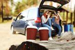 Podróż samochodem, czyli kawa i hot dogi