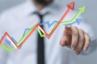 Gospodarka rośnie wolniej przy wyższej inflacji