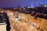 Ulice handlowe w Warszawie i Krakowie
