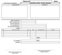 Faktura VAT marża dla towarów używanych