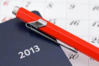 Kalendarz z logo firmy: rozliczenie VAT 2013