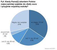 Kiedy najwcześniej Polska wejdzie do strefy euro i przyjmie wspólną walutę
