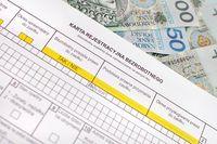 Karta rejestracyjna bezrobotnego
