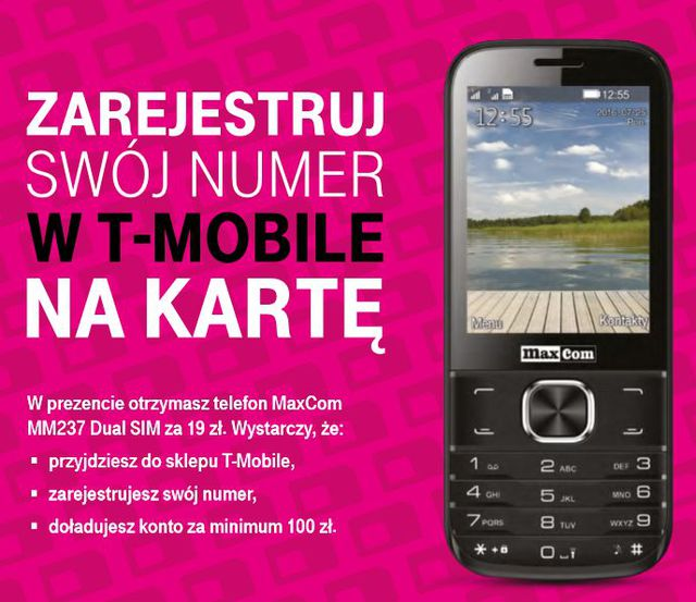 T Mobile Na Karte.Rejestracja Numeru W T Mobile Już Ruszyła Egospodarka Pl