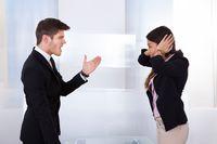 Kłótnia w pracy