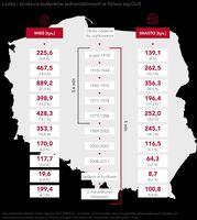 Liczba i struktura budynków jednorodzinnych w Polsce