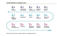 Czynniki wpływające na satysfakcję w pracy