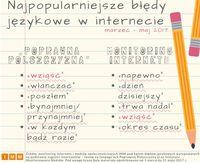 Najpopularniejsze błędy językowe w internecie