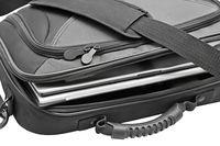 Laptop z torbą
