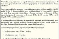 Zasady liczenia stażu pracy