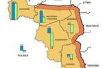 Strefa przygraniczna w Polsce: ludność i powierzchnia 2009