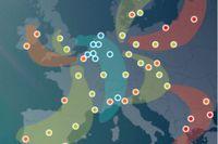 8 głównych korytarzy transportowych w Europie