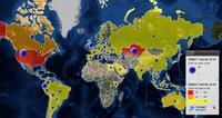 Mapa serwerów HackingTeam