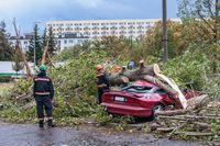Gwałtowne zjawiska atmosferyczne przestraszyły Polaków