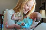 Pracownica na urlopie macierzyńskim
