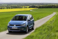 Volkswagen Sharan z przodu