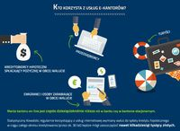 Kto korzysta z usług e-kantorów?