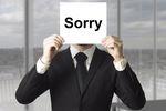 """Czy """"przepraszam"""" wystarczy, aby odzyskać wizerunek firmy?"""