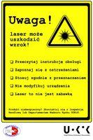 Wskaźniki laserowe - zasady bezpieczeństwa