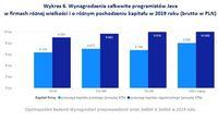 Wykres 6. Wynagrodzenia programistów Java w firmach różnej wielkości i o różnym pochodzeniu kapitału