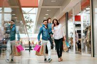 Zakupy w centrum handlowym