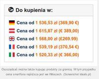 Porównanie cen na różnych rynkach
