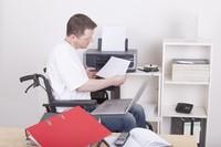 Niepełnosprawny pracownik