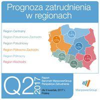 Prognoza zatrudnienia w regionach