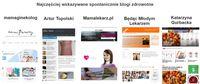 Najczęściej wskazywane spontanicznie blogi zdrowotne