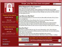 WannaCry - treść wiadomości