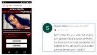 Łagodny przykład pokazywanej reklamy i komentarz rodzica czteroletniej ofiary