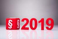 Zmiany w prawie od 1 stycznia 2019
