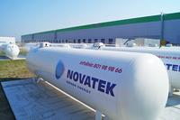 Fot. 2 Instalacja zbiornikowa na gaz płynny.