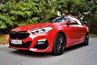 BMW 220d Gran Coupe trzyma poziom