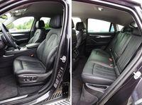 BMW X6 xDrive30d - fotele
