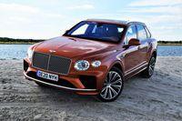 Bentley Bentayga V8 - z przodu
