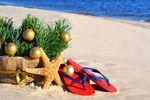 Boże Narodzenie i Sylwester coraz częściej pod palmami
