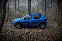 Dacia Sandero Stepway - bok