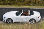 Fiat 124 Spider Lusso. Słoneczna Italia w pochmurną polską jesień