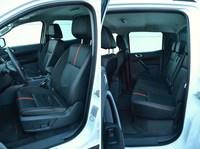 Ford Ranger Wildtrak 3.2 TDCi - przednie i tylne fotele