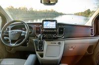 Ford Tourneo Custom - deska rozdzielcza
